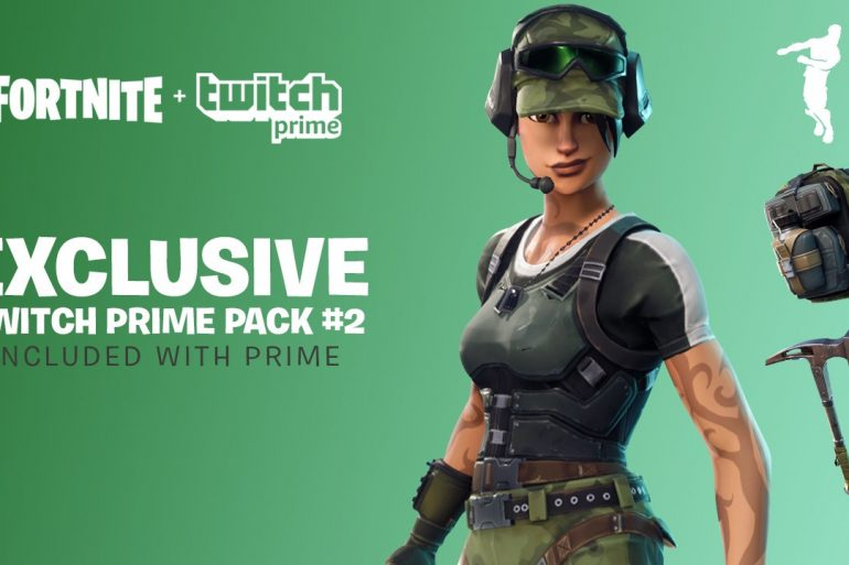 Fortnite: Twitch Prime Pack 2