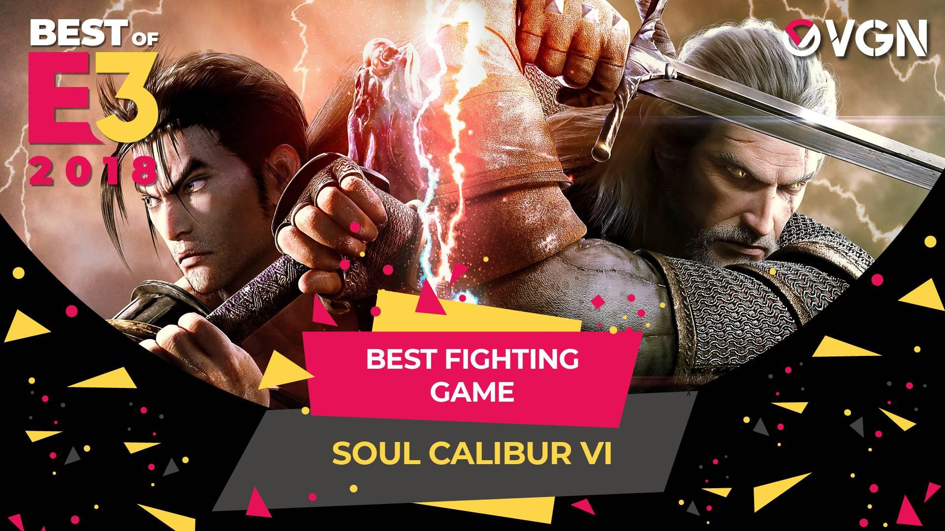 E3 2018 - Best Fighting Game - Soul Calibur VI