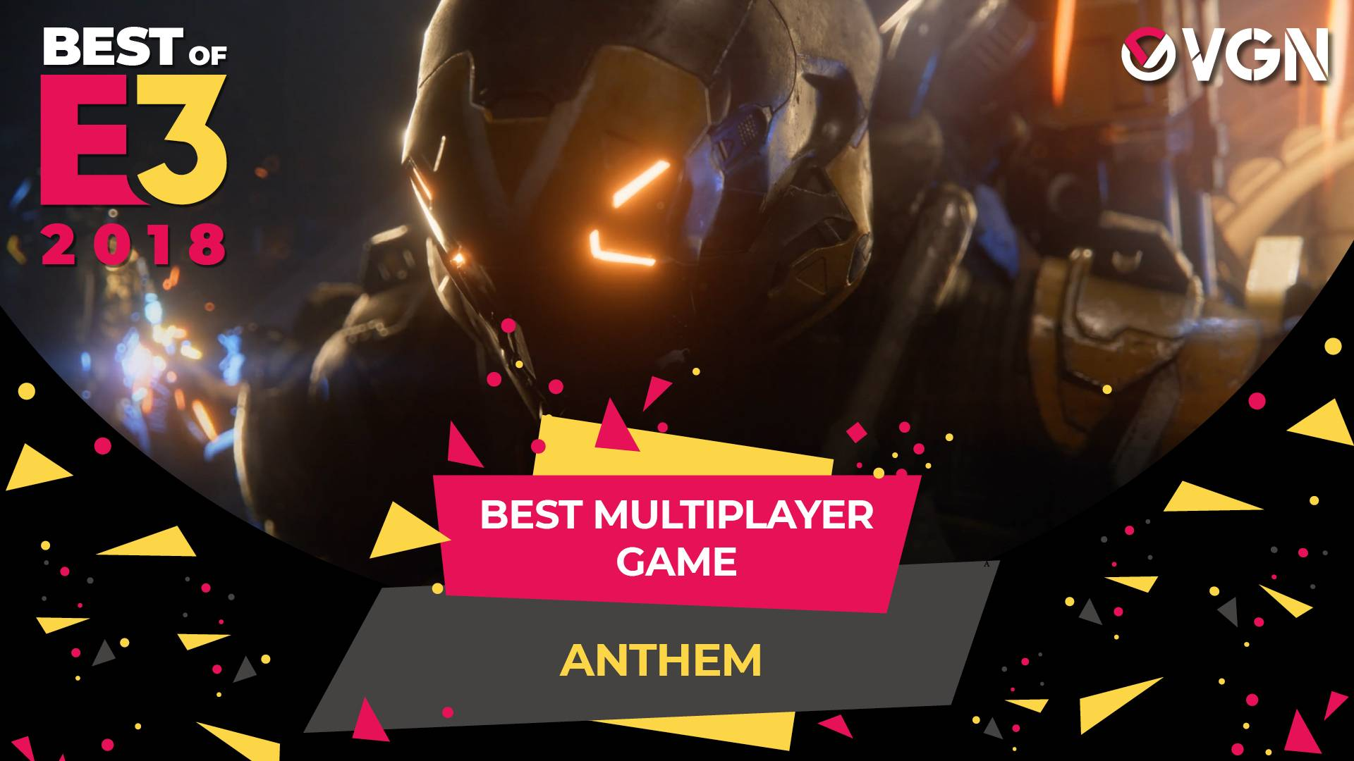 E3 2018 - Best Multiplayer Game - Anthem