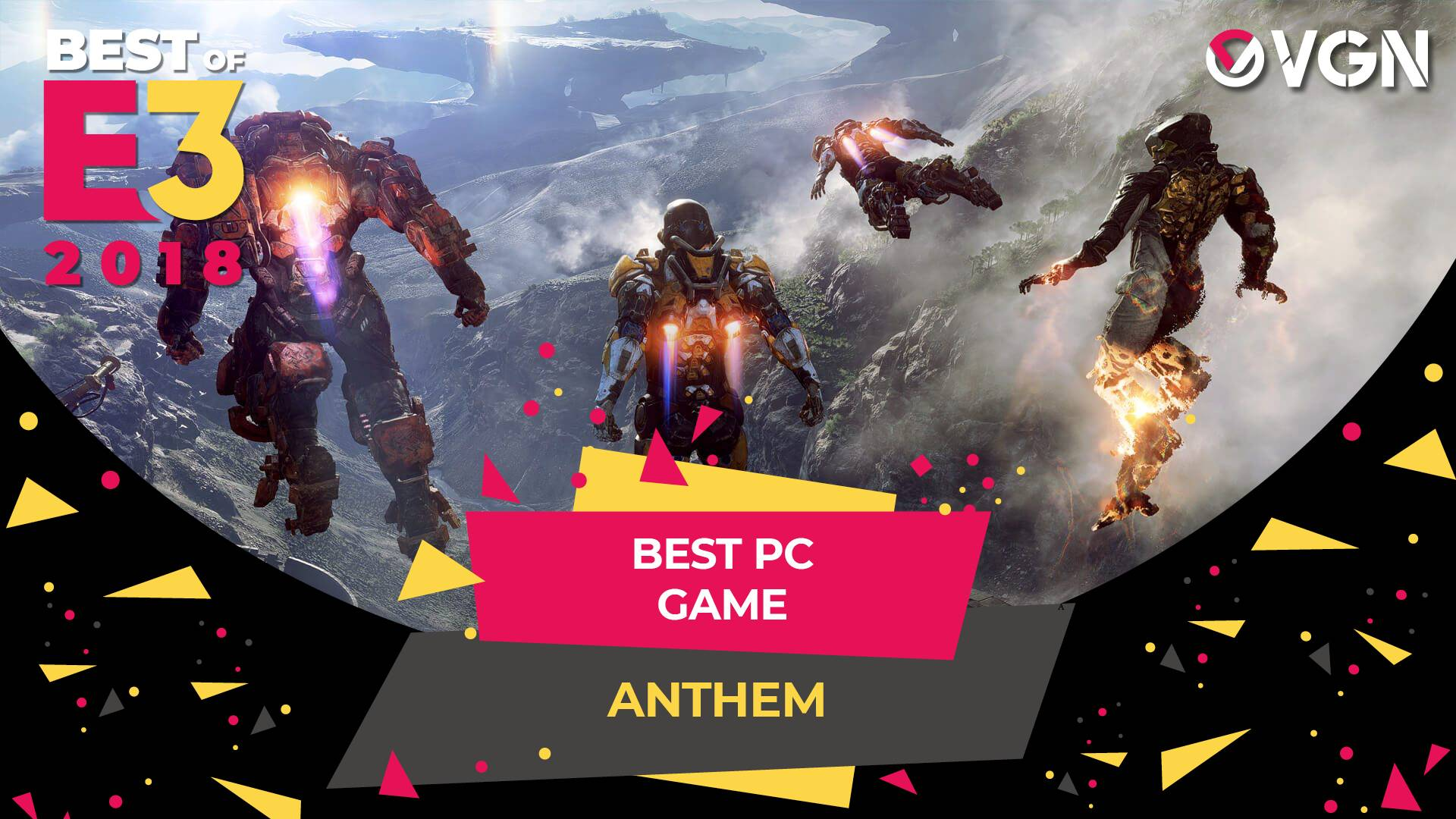 E3 2018 - Best PC Game - Anthem