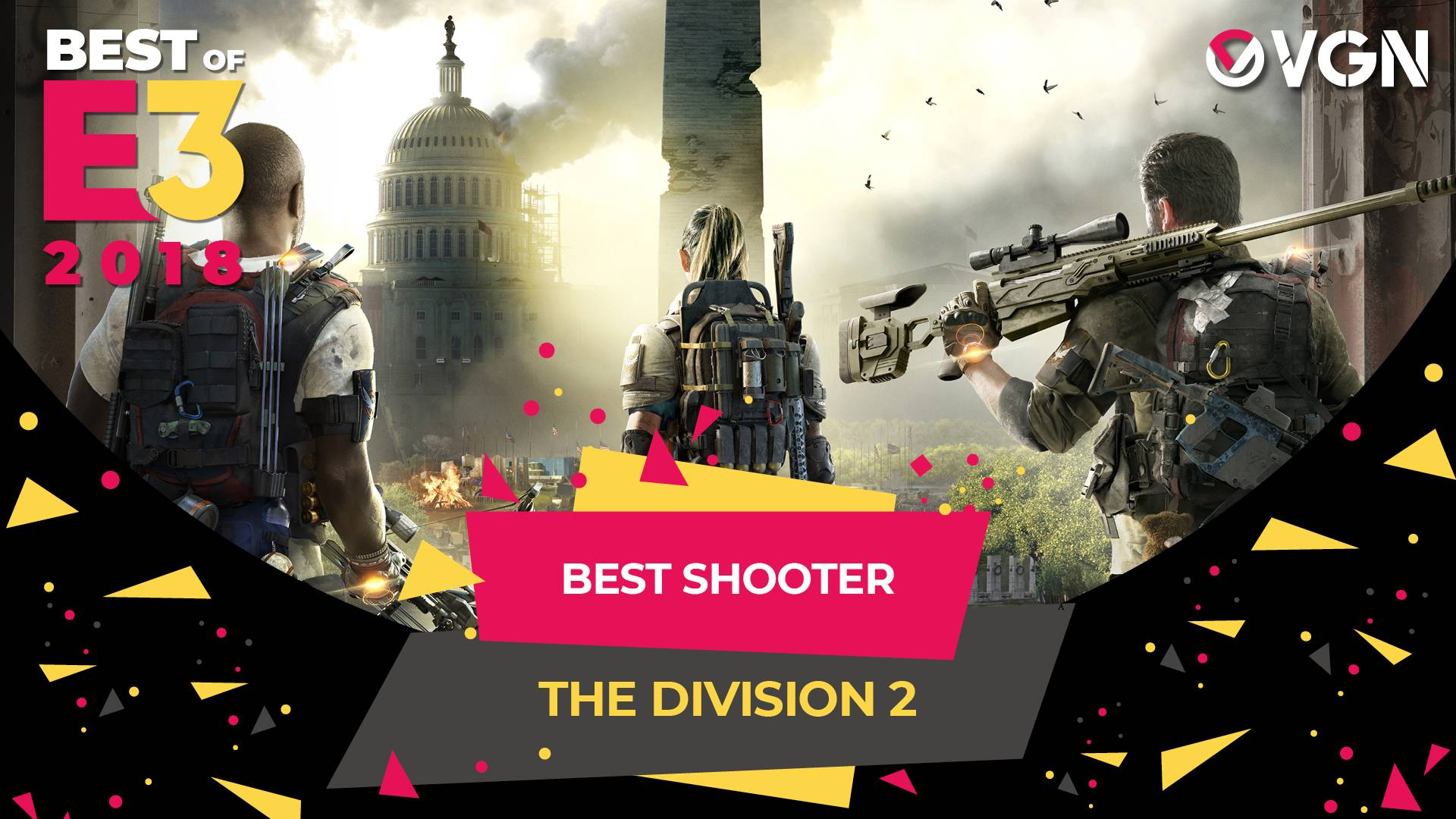 E3 2018 - Best Shooter - The Division 2