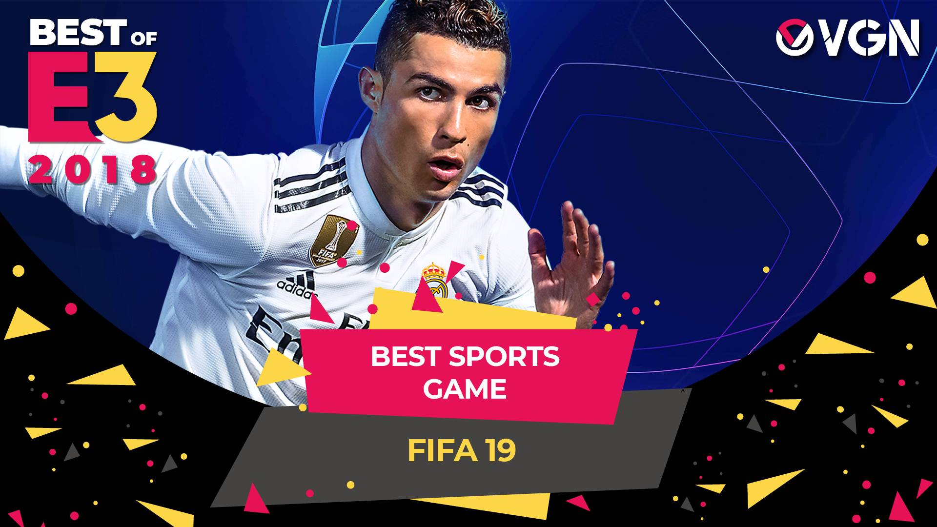 E3 2018 - Best Sports Game - FIFA 19