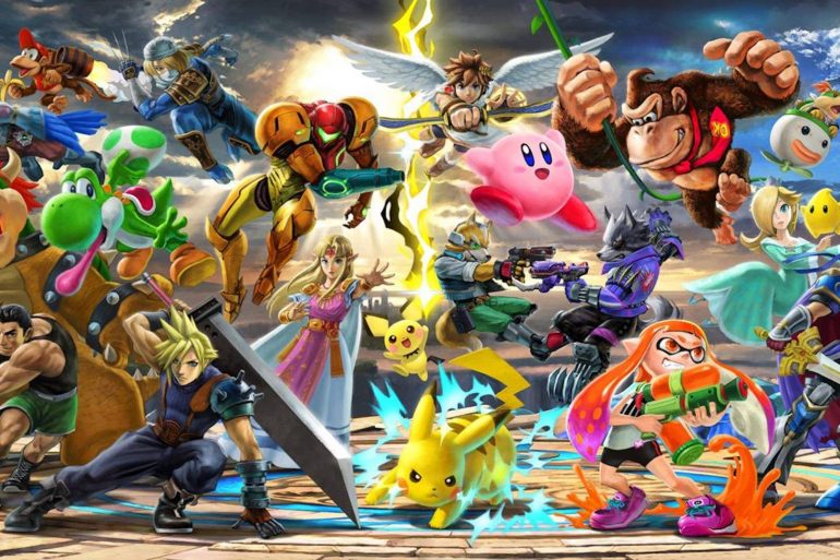 Super Smash Bros Ultimate anteprima