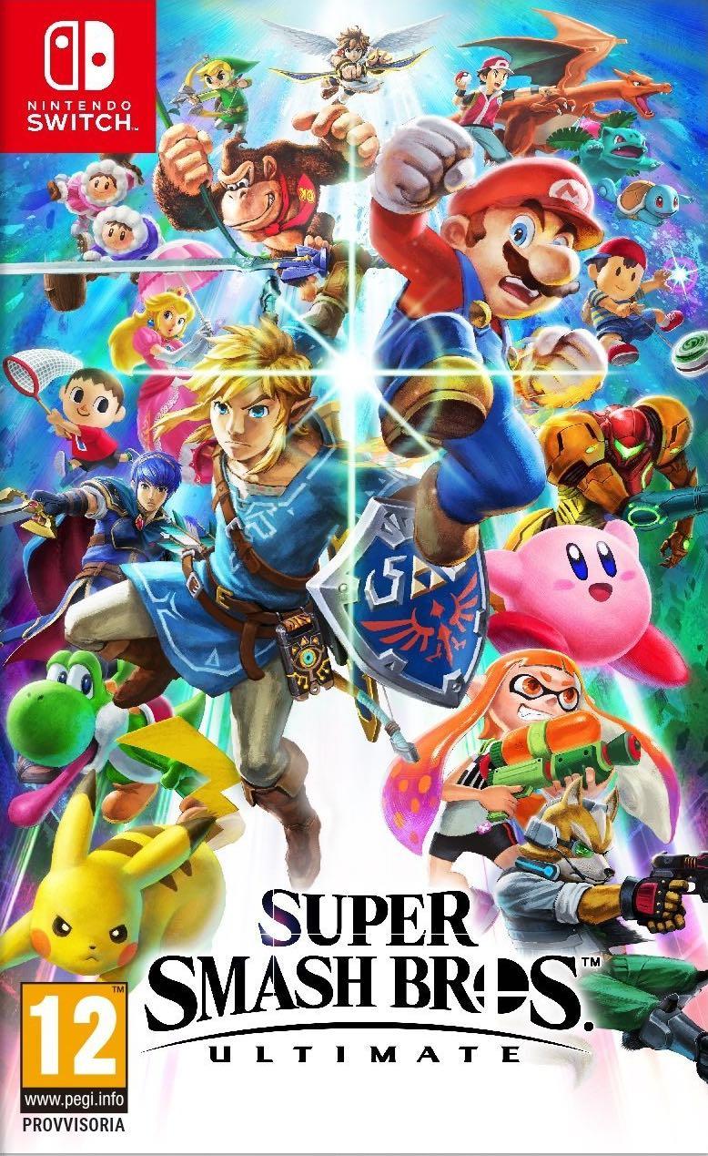 Super Smash Bros Ultimate cover
