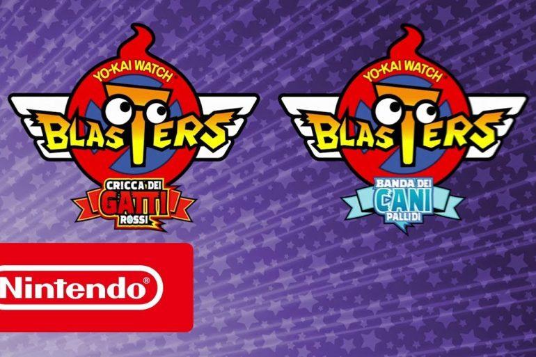 Yo-Kai Watch Blasters: Cricca dei Gatti Rossi e Yo-Kai Watch Blasters: Banda dei Cani Pallidi