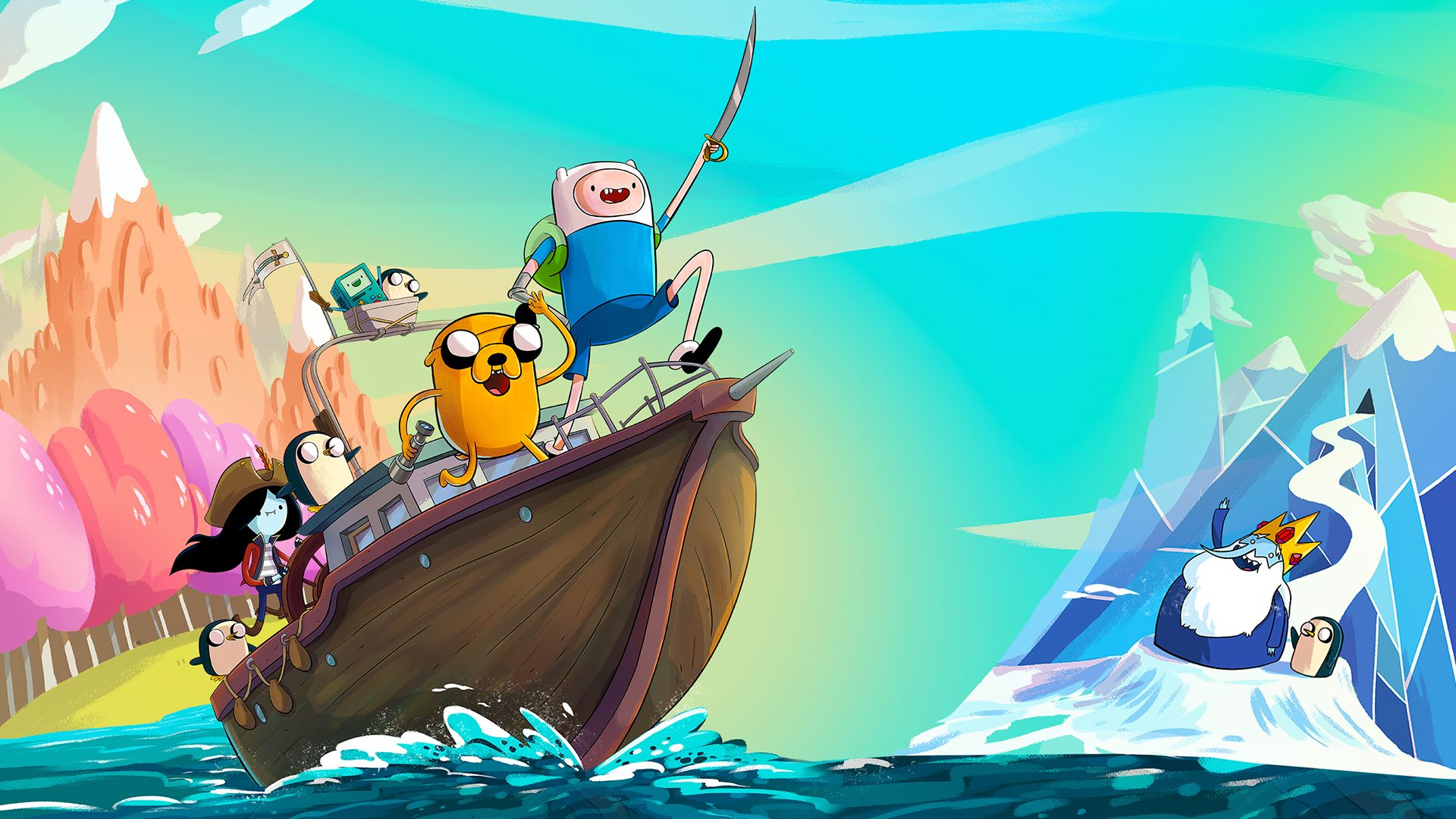 Adventure Time: I Pirati dell'Enchiridion
