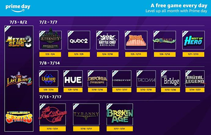 Amazon Prime Day 2018 - Twitch Prime