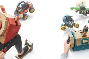 Nintendo LABO - Vehicle Nintendo presenta il #VehicleKit, terzo set dedicato a #NintendoLABO in arrivo nei prossimi mesi! https://go.vgn.it/2Lvbw70