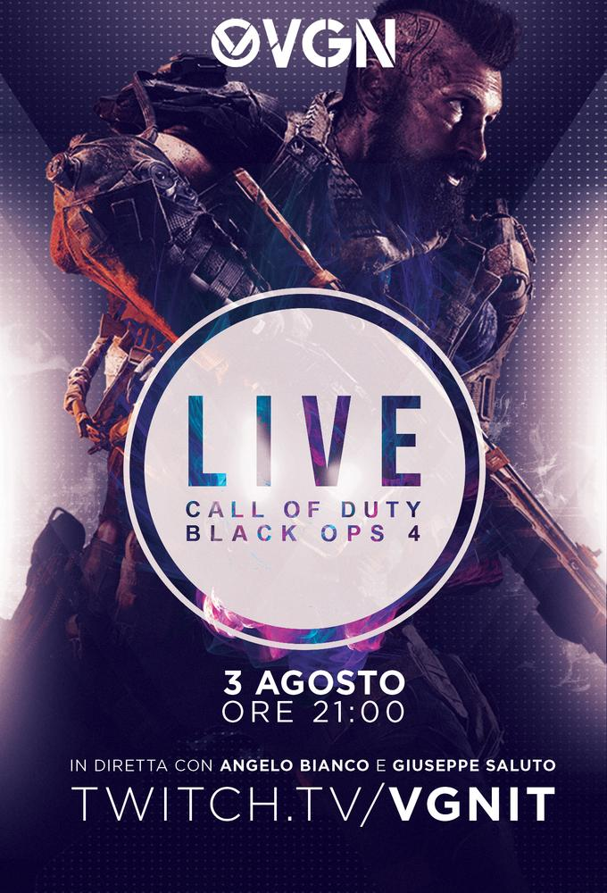 VGN Live - Call of Duty: Black Ops 4