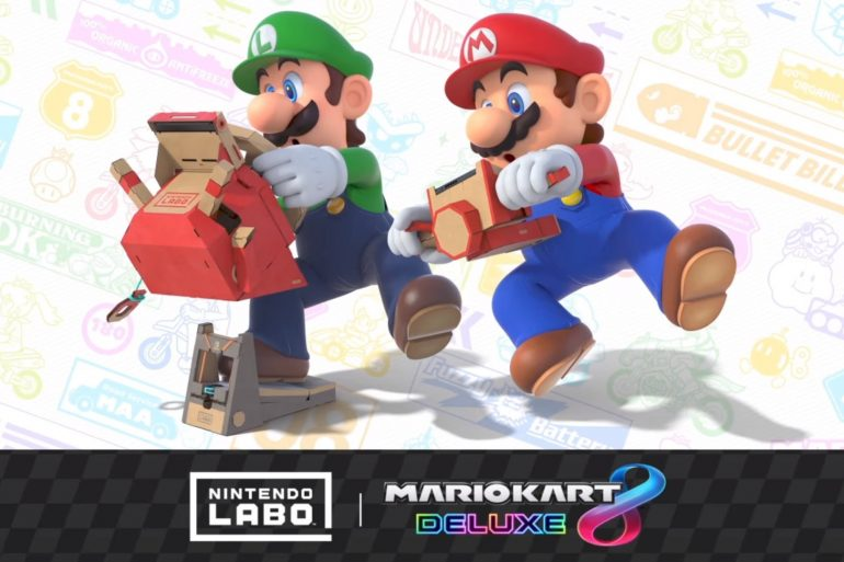Mario Kart 8 Deluxe – compatibile con Nintendo Labo: Kit veicoli