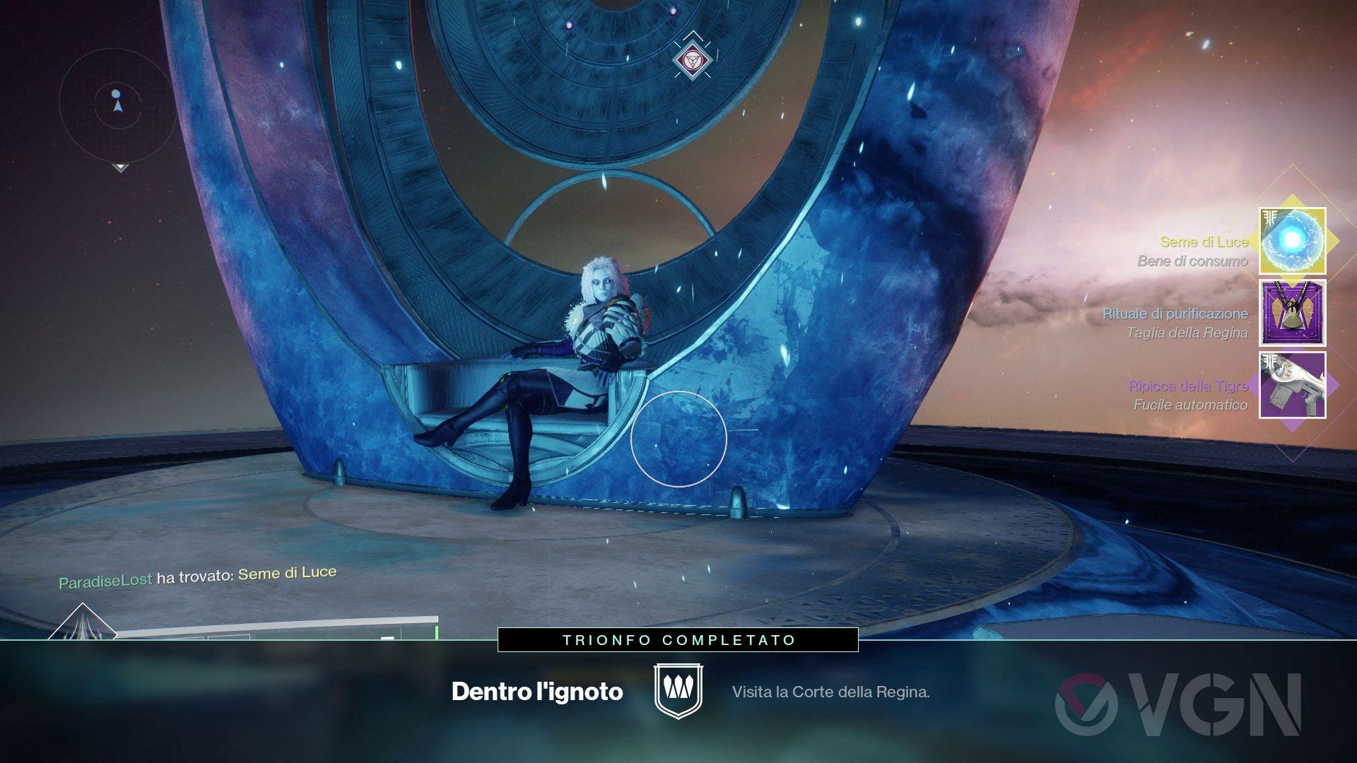 Destiny 2: I Rinnegati, come raggiungere la Corte della Regina Mara Sov
