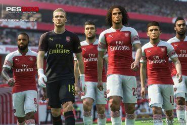 PES 2019 - Arsenal