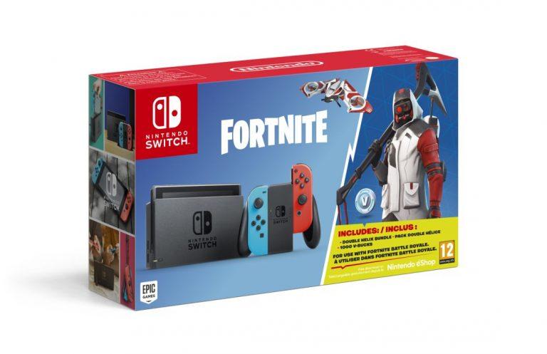 Nintendo Switch - Fortnite Bundle