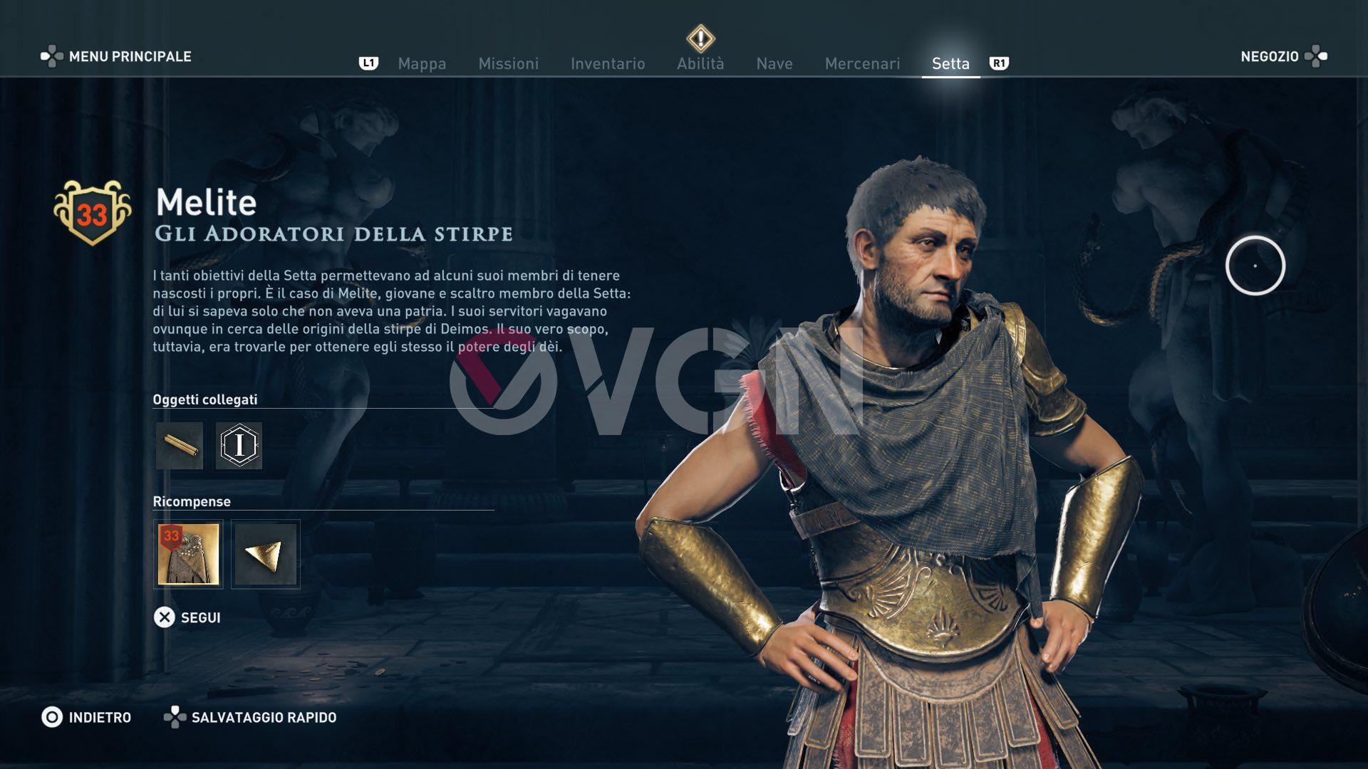 Asasssin's Creed Odyssey