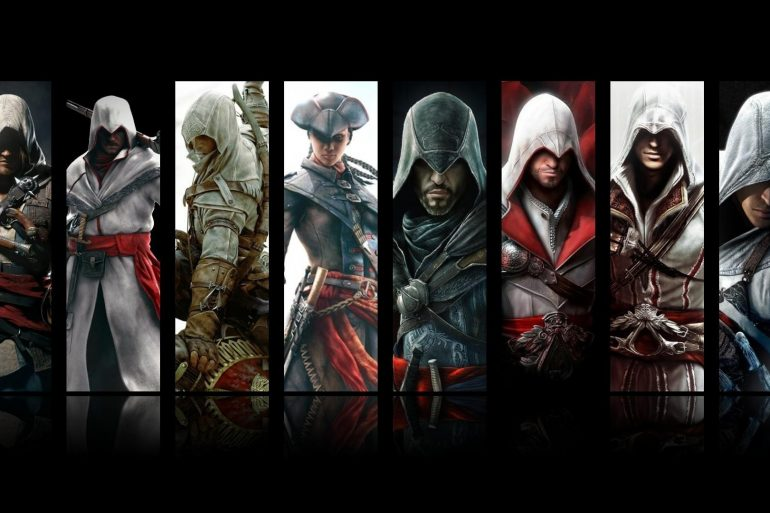 I protagonisti di Assassin's Creed