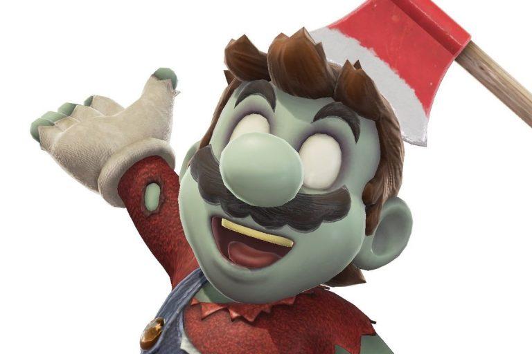 Super Mario Odyssey - Costume Zombie