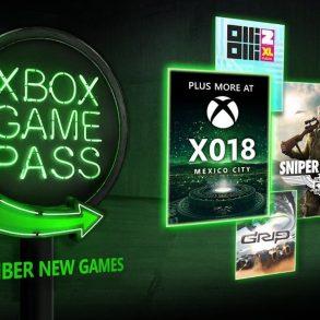 Xbox Game Pass - Novembre 2018