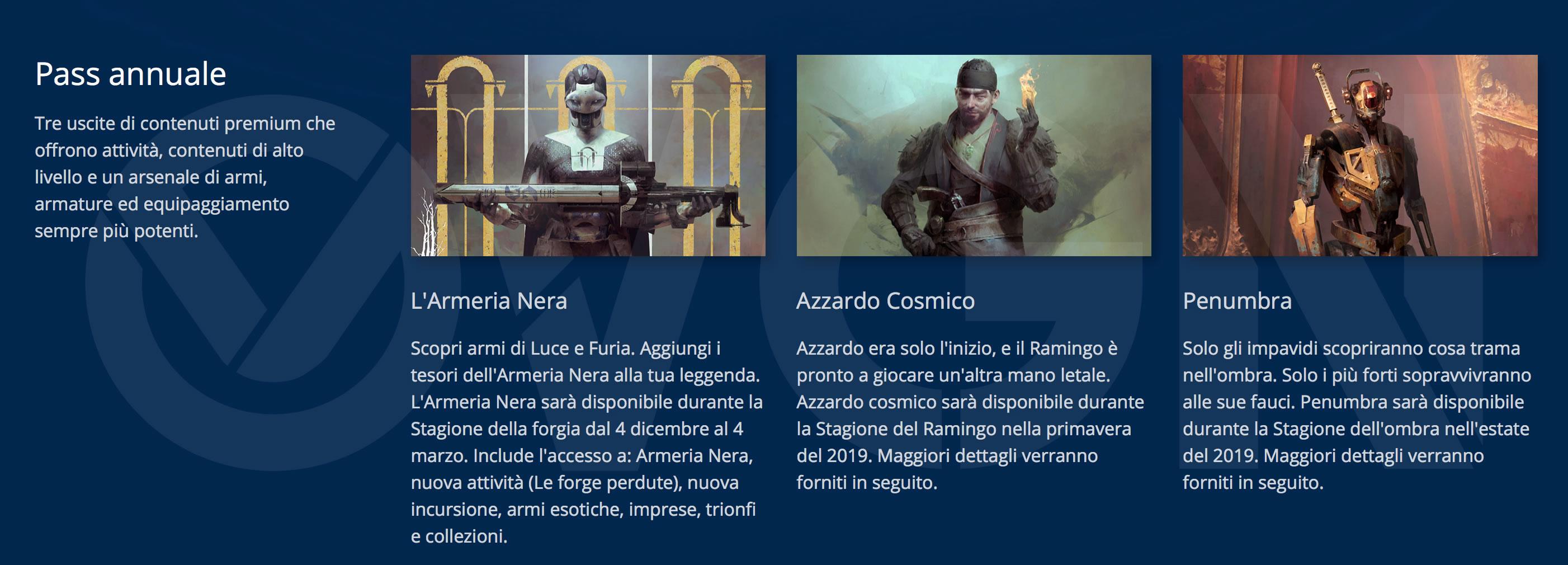 Destiny 2: I Rinnegati - Pass Annuale