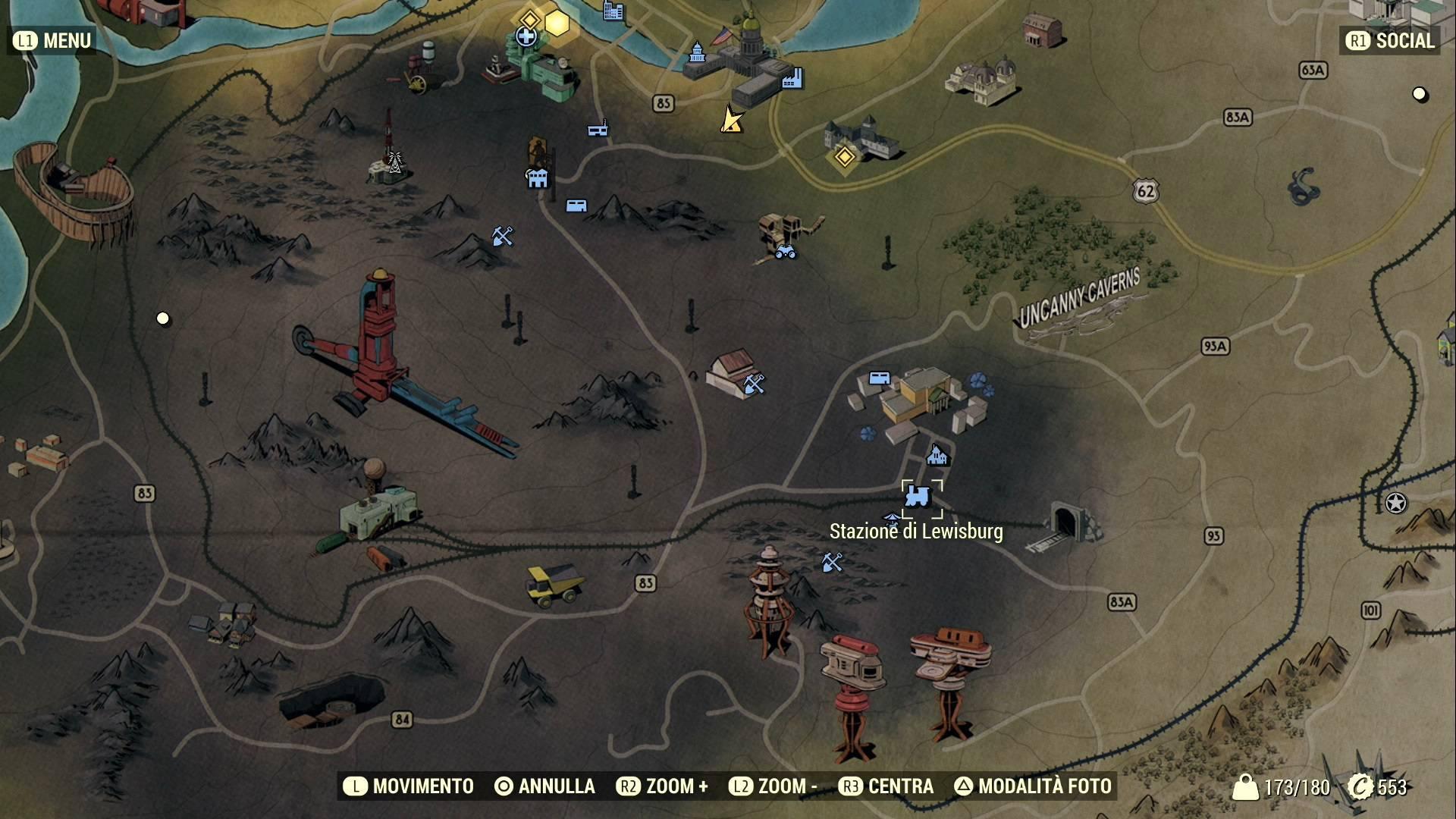 Fallout 76, dove trovare le Casse di Scorte