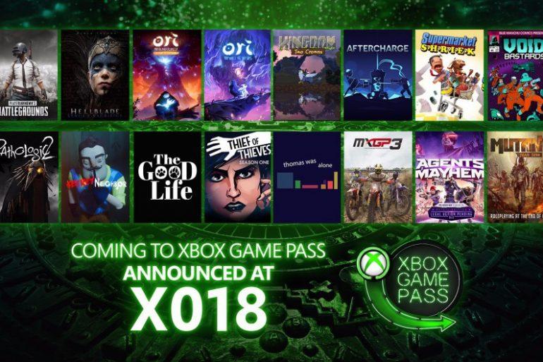 Xbox Game Pass - X018