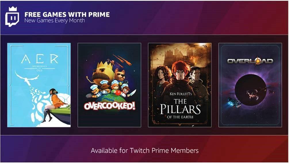 Twitch Prime - Novembre
