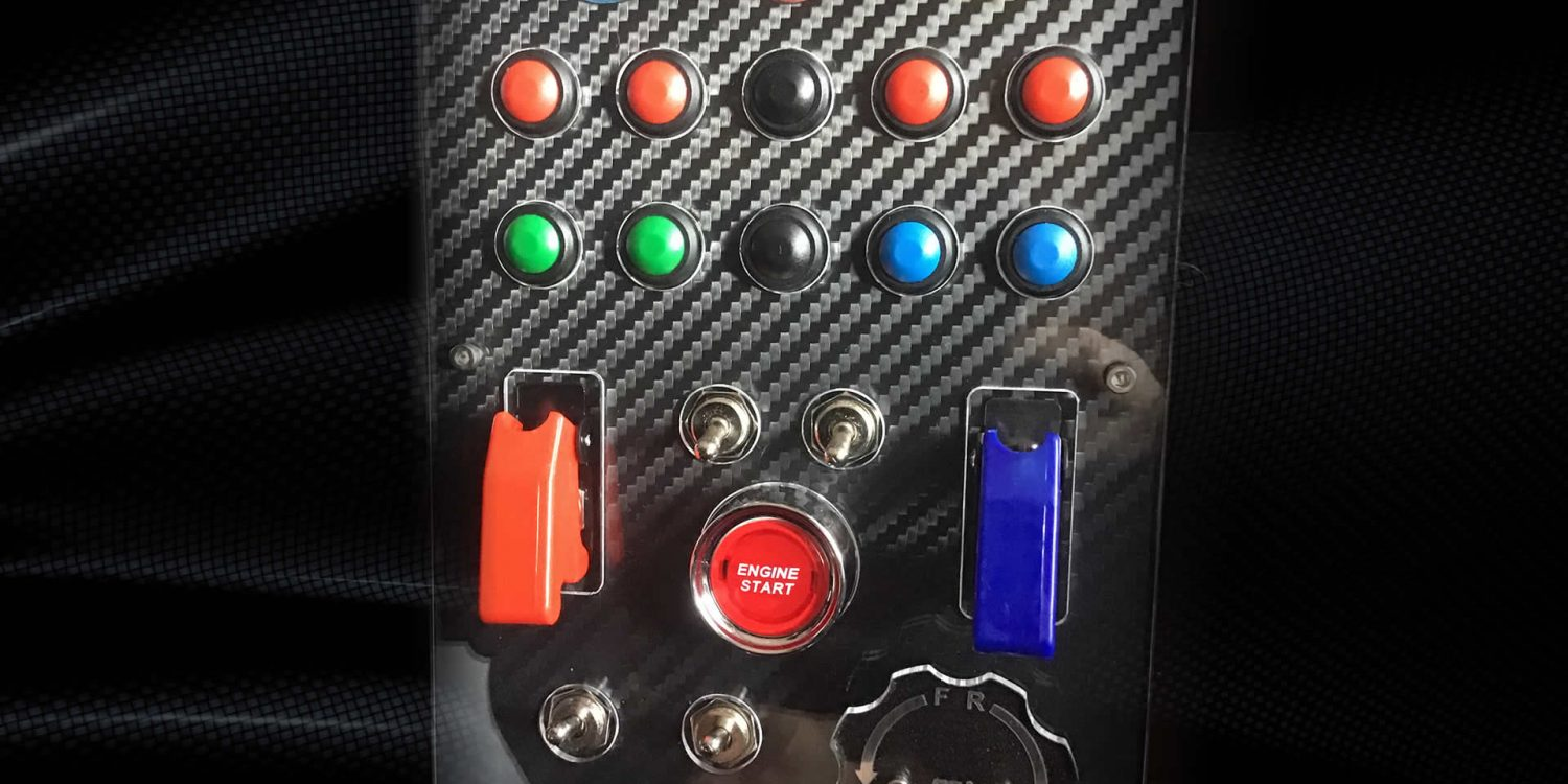 Sim Racing Hardware Button Box
