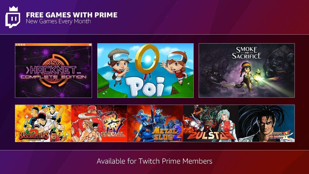 Twitch Prime - Dicembre