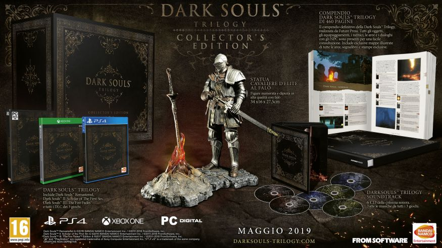 Dark Souls Trilogy Collector Edition