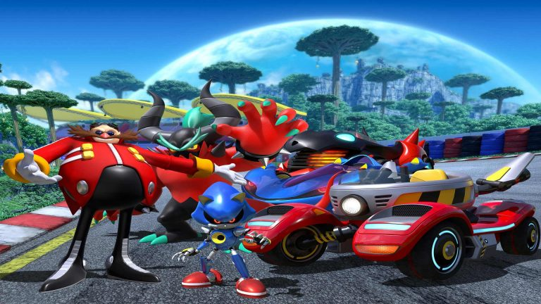 Team Sonic Racing - Team Eggman