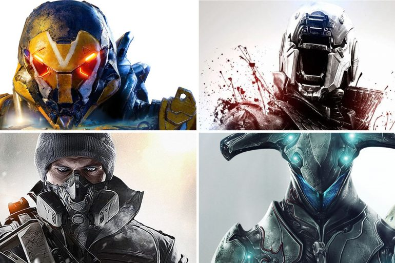 Anthem vs Destiny vs The Division vs Warframe