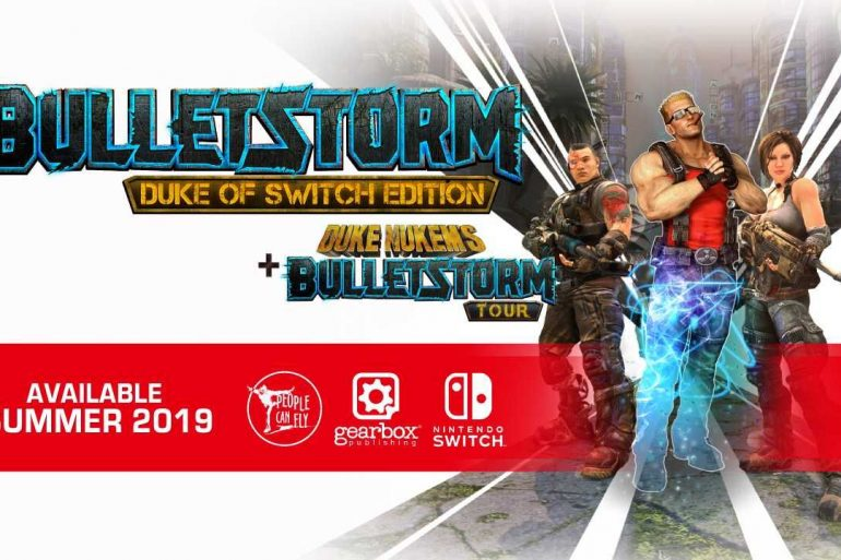 Bulletstorm Duke of Switch Edition