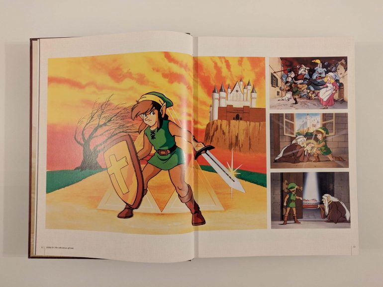 The Legend of Zelda Encyclopedia / L'arte di una leggenda