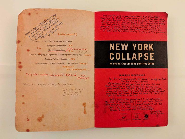 Pixel Cartacei #10: New York Collapse