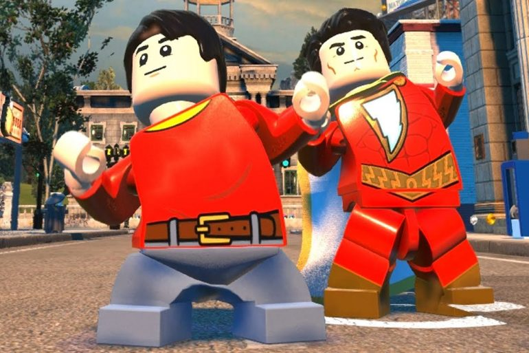 LEGO DC Super Villains - shazam