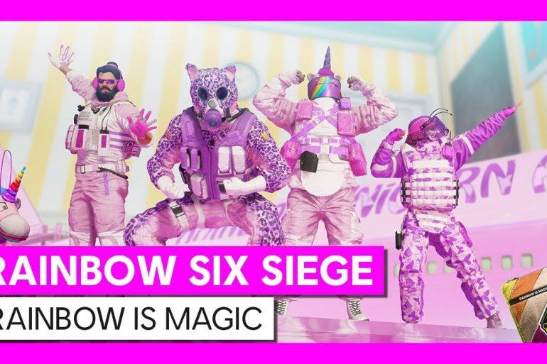 Tom Clancy's Rainbow Six Siege rainbow is magic