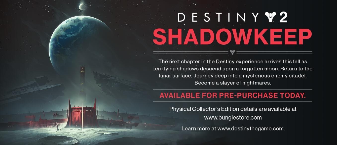 Shadowkeep sarà la prossima espansione di Destiny 2? 1