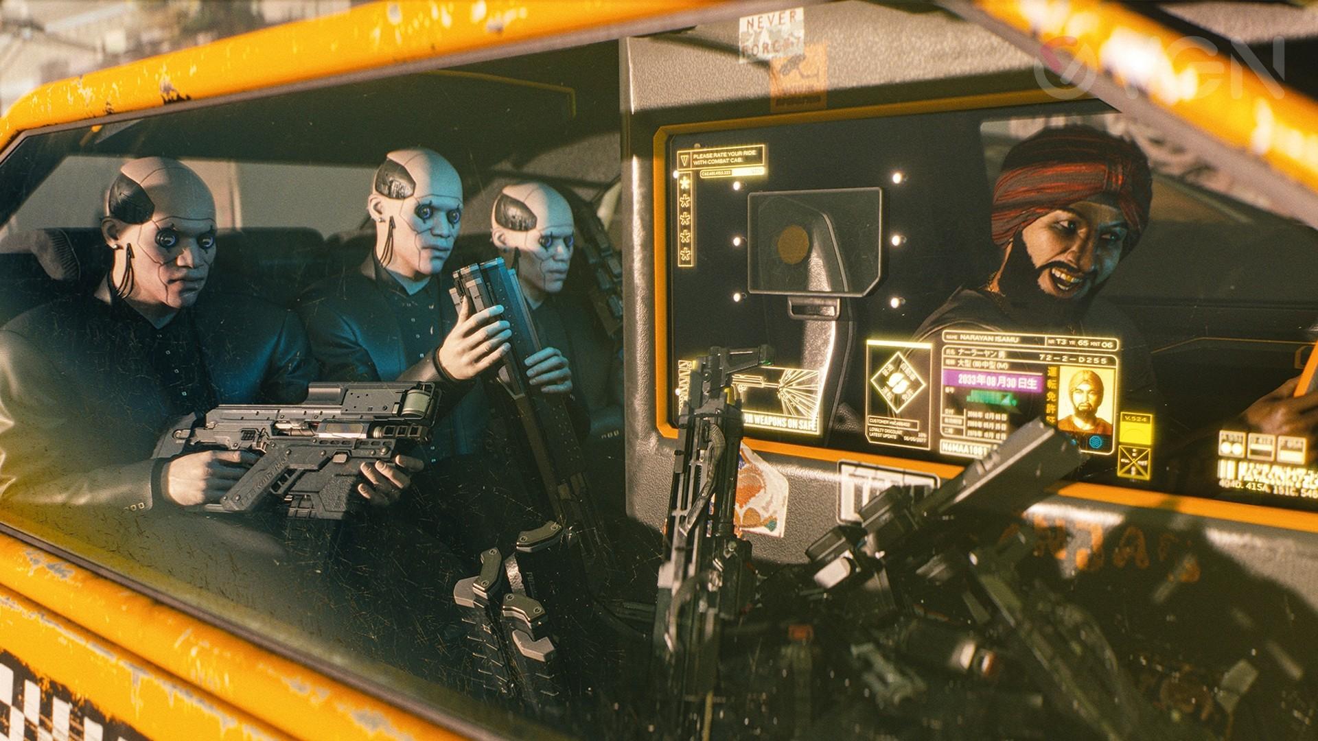 Cyberpunk 2077 - Narayan Isamu