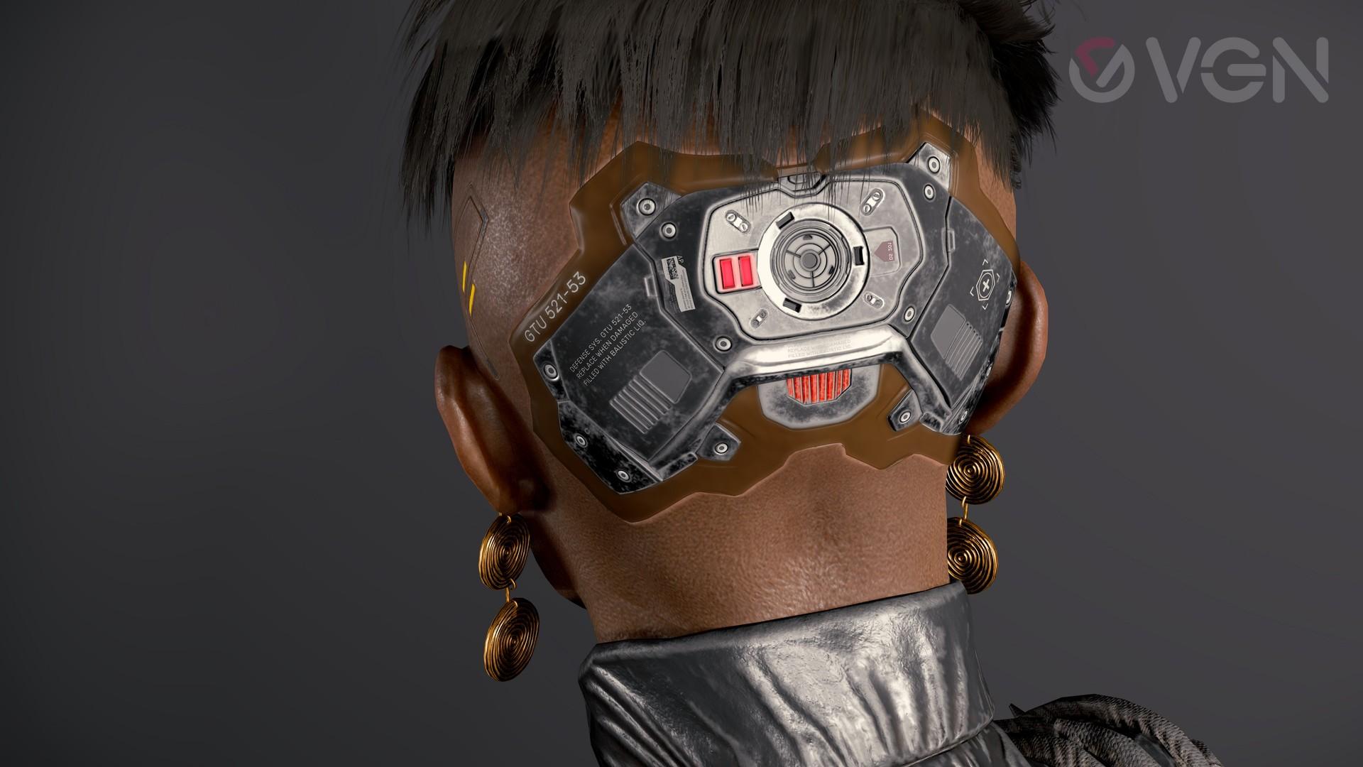 Cyberpunk 2077: Brigitte