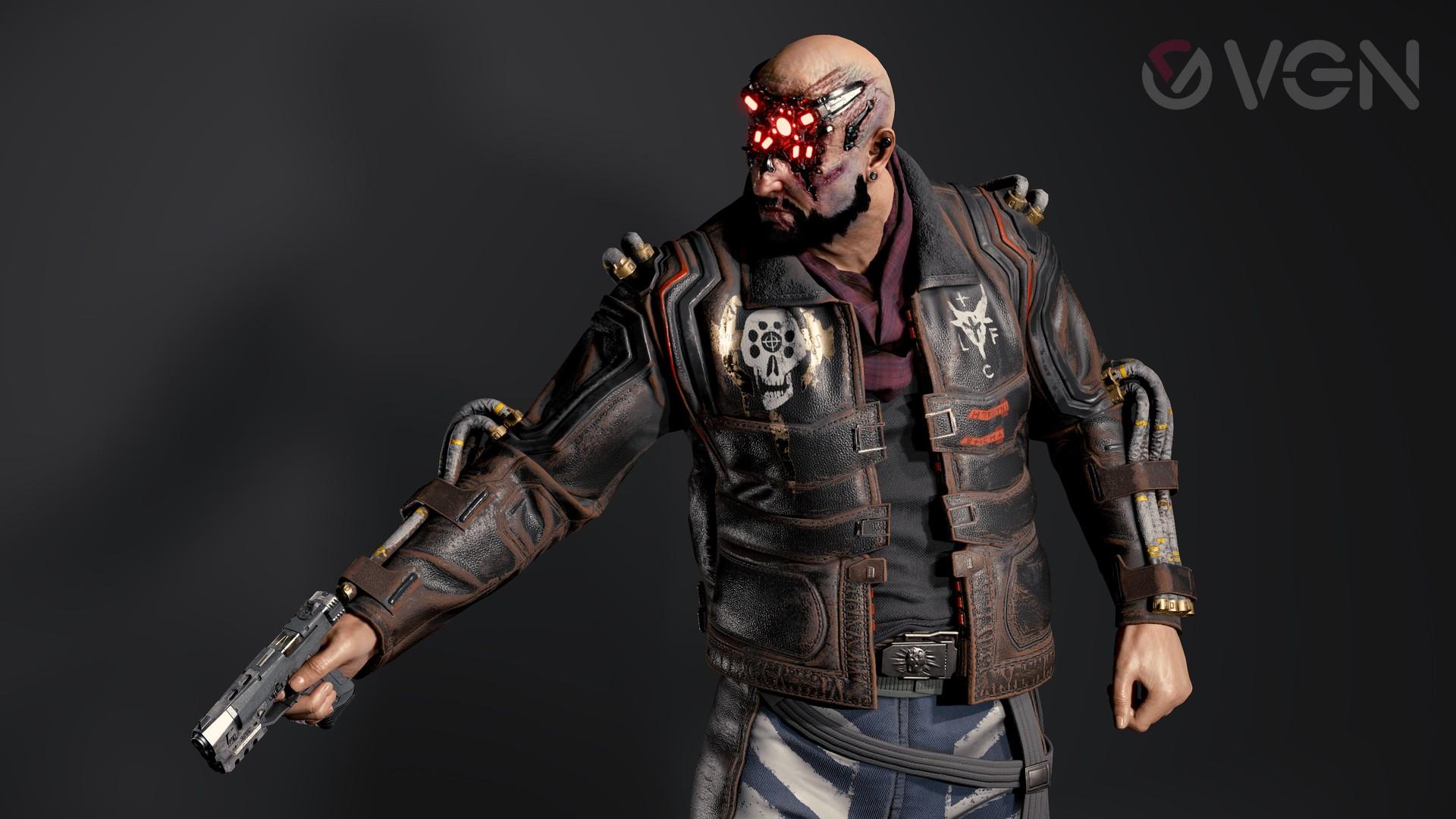 Cyberpunk 2077: Royce