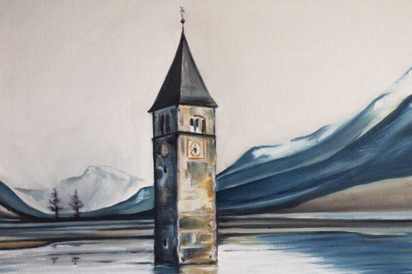 A Painter's Tale: Curon, 1950